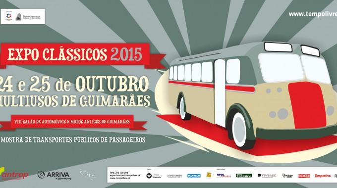 Expo Clássicos 2015 – VIII Salão De Automóveis E Motos Antigos De Guimarães