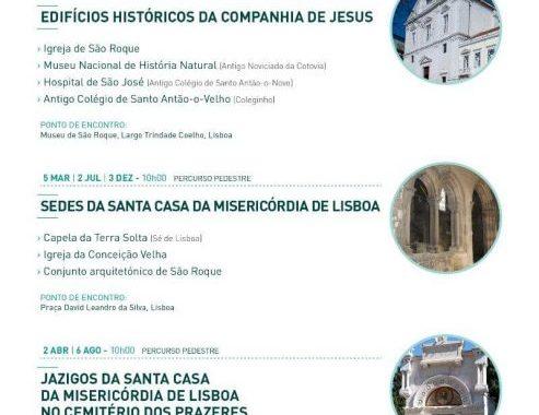 "ROUTES IN Lisbon | next Visit: ""From the Headquarters Santa Casa da Misericordia de Lisboa"", Day 5 March, 10h00"