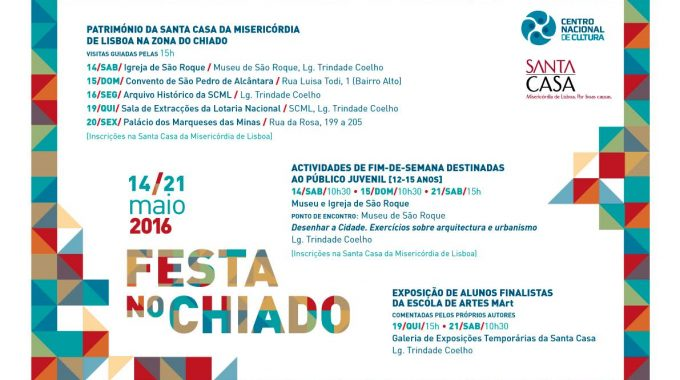 PARTY IN CHIADO | 14 A 21 Of May | FREE PARTICIPATION