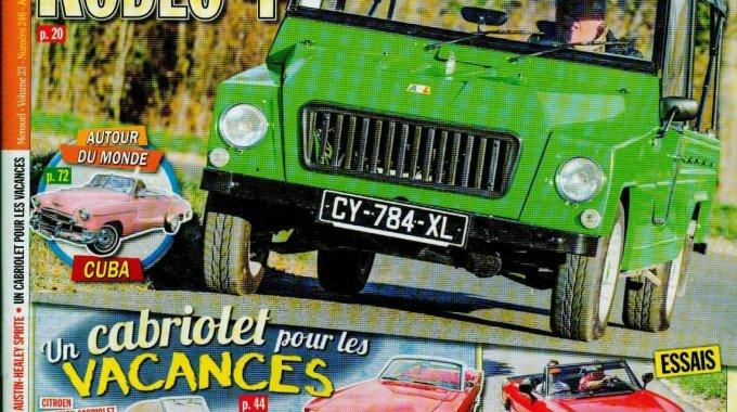 Reportagem Na Revista Gazoline – Clube F.I.A.T – La Reine Du Portugal