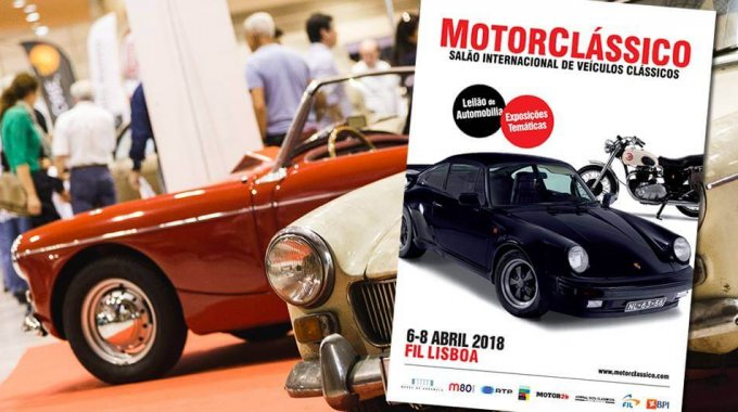 hall Motorcássico – 6/4 – 8/4 – IN – From Lisbon International Fair