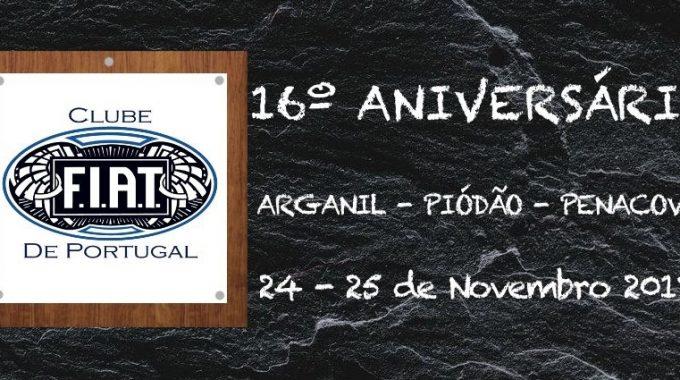 16 Aniversário Do Clube F.I.A.T. De Portugal