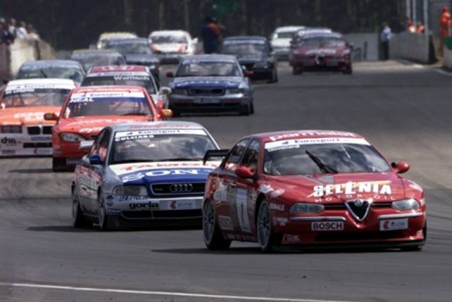 "The Italian Job  – Alfa Romeo 156 On It's Way To Victory In The ""European Super…"
