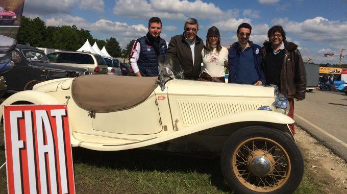 Fiat Fun Club Le Stand FFC Au Vintage Revival De Montlhéry… Rencontres Des Sta…