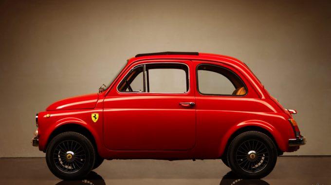 """Retrato: """"Luigi""""  Vestido De Ferrari   Cortesia De Fiat Club America – NJ Chapte…"""