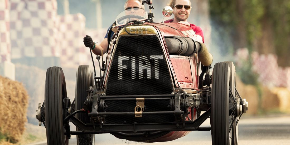 Véhicule record Fiat Mephistofele